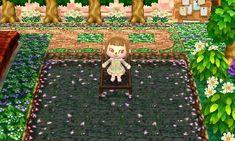 古びた池 桜多め Sakura Path Animal Crossing New Leaf Qr Code
