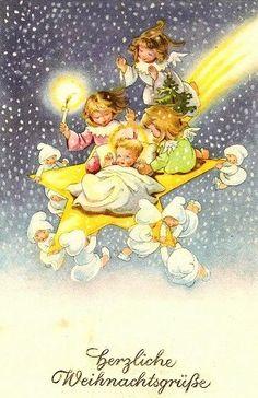 3 Weihnachtsengel 3 Engel Angeli Di Natale Natale En Biglietti