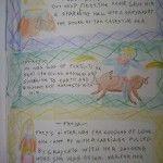 Waldorf ~ 4th grade ~ Norse Mythology ~ Aesir Gods ~ main lesson book