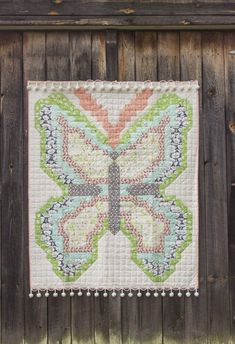 large butterfly free quilt pattern