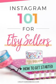 Creative Mom Boss - Etsy shop tips and Etsy marketing. Teaching and helping Etsy entrepreneurs to take their shop from a side gig to a full time income stream. Craft Business, Creative Business, Business Tips, Business Planning, Business Marketing, Media Marketing, Business Notes, Instagram Apps, Instagram Marketing Tips
