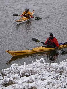 Winter kayaking clothing