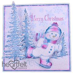 Heartfelt Creations - Jolly Skating Snowman Project