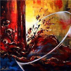 """""""Sun Kissed"""" by © Leanne Laine Fine Art https://www.facebook.com/leannelainefineart #wine #wineart #winepainting #fineart #art #paintings #sunkissed"""