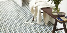 Gorgeous Floor Tiles. Perfect for a hallway
