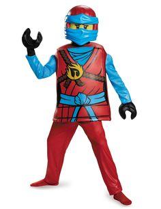 Costume deluxe Nya Ninjago™ - LEGO® per bambino #Natale #Natale2016 #Lego #Ninjago #NexoKnights