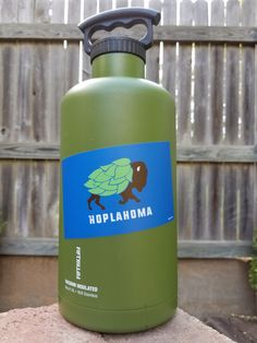 Show your love for Hoplahoma Nation. These UV coated vinyl stickers are perfect for growlers, coolers and vehicles.   Shop this product here: http://spreesy.com/beerisok/31   Shop all of our products at http://spreesy.com/beerisok      Pinterest selling powered by Spreesy.com