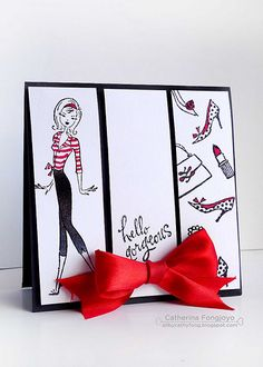 penny black designers has been asked to create card using black white ...