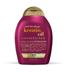 Strength is beautiful! Especially strong, sexy strands! Defend against split ends and fly-a-ways with Anti-Breakage Keratin Oil Conditioner by OGX. Rid your mane of all those pesky broken hair pieces! Stronger hair can grow longer and more beautiful. Keratin Shampoo, Shampoo And Conditioner, Shampoo For Damaged Hair, Best Shampoos, Strong Hair, Healthy Hair, Healthy Scalp, Health And Beauty, Hair Care