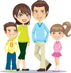 Family Clipart 4 People Clipart Panda Free Clipart Images - Clipart Suggest Cartoon Pics, Cartoon Styles, Cute Cartoon, Cartoon Characters, Cartoon Drawings, Family Clipart, Family Vector, Rich Family, Family Love