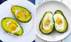 Ugnsbakad avokado med ägg är den godaste (och nyttigaste) frukosten just nu!
