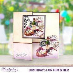 Birthday's for Him & Her | Hunkydory Crafts