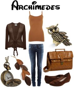 Love Love Love Archimedes the Owl from the Sword in the Stone!!  THIS SITE DOES OUTFITS BASED ON DISNEY CHARACTERS