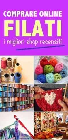 DOVE COMPRARE ONLINE LANE, COTONI, FILATI Knitting Club, Loom Knitting, Baby Knitting, Love Crochet, Knit Crochet, Art And Hobby, Yarn Bombing, Diy Ribbon, How To Purl Knit