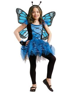 Ballerina Butterfly Child Costume | Wholesale Butterfly Costumes for Girls