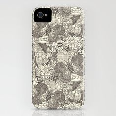 vintage butterflies iPhone Case by Sharon Turner | Society6