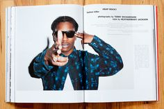 A$AP by Terry Richardson for Purple magazine