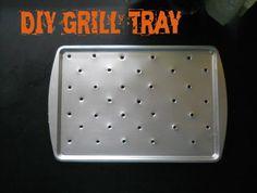 DIY Grill Tray