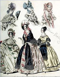 The World of Fashion and Continental Feuilletons 1836 Plate 42