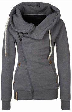 WealFeel Hooded Side Zipper Sweatshirt