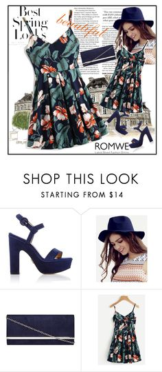 """Romwe"" by melina2110 ❤ liked on Polyvore featuring H&M and Dorothy Perkins"
