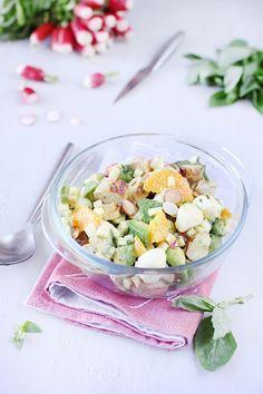 Salade de filets de lapin à la mozzarella et à l'avocat