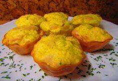 Sajtos csirkemellmuffin Cauliflower, Muffins, Paleo, Food And Drink, Vegetables, Head Of Cauliflower, Veggies, Muffin, Vegetable Recipes