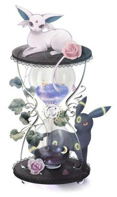 Wow beautiful umbreon and espeon... I need this..