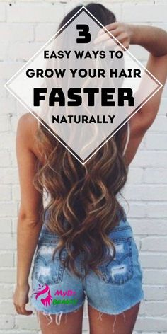 Grow Your Hair Faster - Naturally!You can find Make hair grow and more on our website.Grow Your Hair Faster - Naturally! Hair Mask For Growth, Vitamins For Hair Growth, Hair Remedies For Growth, Healthy Hair Growth, Hair Growth Oil, Faster Hair Growth, Hair Growing Remedies, Tips For Hair Growth, Long Hair Remedies
