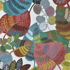 The wonderful Bladverk fabric from Boel