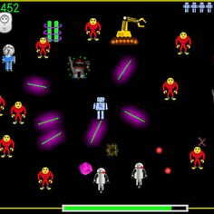 "Run Robot Ron ""Classic Arcade Action at its best!"" if you want to survive you need to keep running and keep shooting."