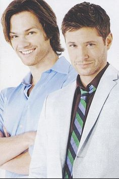 Jared Padalecki and Jensen Ackles everyone. I need this on a poster.