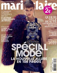 Tess Hellfeuer - Marie Claire Magazine Cover [France] (1 September 2014)