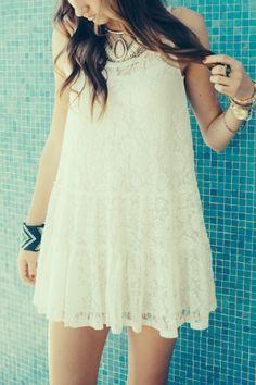 Layers Of Lace Dress