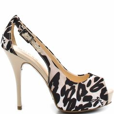 Guess Black & White Leopard Print Heel, now if only I still had my guess cow print jeans.