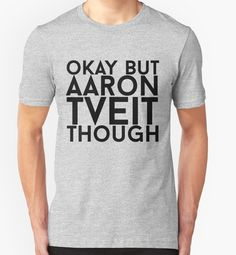 """Aaron Tveit"""" T-Shirts & Hoodies by eheu 