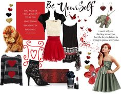 """""""Be Yourself"""" by skr-designs ❤ liked on Polyvore"""