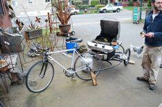 BBQ Bike - by Rejuiced bikes, Portland Oregon.  Urban hipster BBQ.