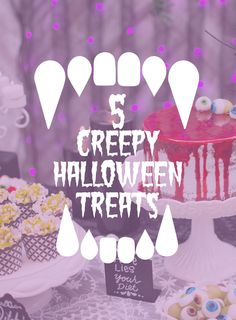 With Halloween dropping on a Saturday this year, planning a Halloween party is absolutely essential. Check out our blog where we show off 5 creepy treat ideas to sink your fangs into.
