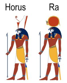 Horus and Ra. Horus Son of Ra, the Sun God. Egyptian Mythology, Egyptian Symbols, Egyptian Art, Ancient Egypt Art, Ancient History, Egypt Tattoo, Pyramids Egypt, Black Art Pictures, Ancient Civilizations