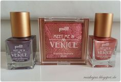 Russkajas Beautyblog: Review - P2 Meet me in Venice LE - Blush & Nagella...