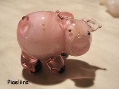 Lampwork glass bead by Piaeliina