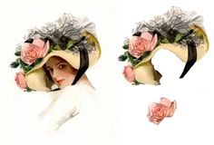 Free Decoupage Sheets beautiful woman | ... decoupage sheet in .jpg format from the image for use in your projects