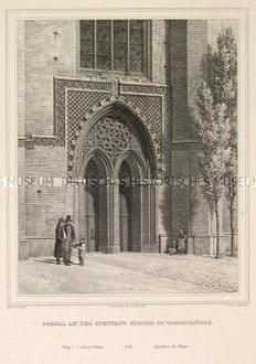 Tangermünde, St. Stephanskirche, Portal (Nr. 16 einer Folge)