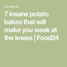 7 Insane potato bakes that will make you weak at the knees Potatoes, Make It Yourself, Baking, Math, How To Make, Recipes, Potato, Bakken, Math Resources