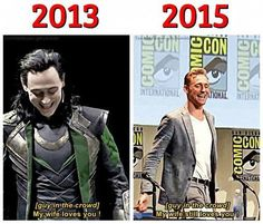 Tom Hiddleston at SDCC