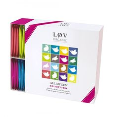 Aż 48 saszetek starannie wyselekcjonowanej organicznej herbaty Løv Organic.  Dzień kobiet zbliża się dużymi krokami. To idealny prezent.  https://homeandfood.eu/p/24/6767/zestaw-prezentowy-herbata-w-saszetkach-all-my-l-v-selection-l-v-organic-zestawy-upominkowe-herbaty.html