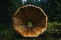 Megáfonos gigantes que amplifican el sonido del bosque | The Creators Project