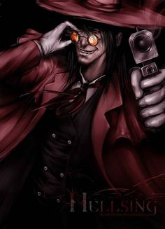 Hellsing  -  Alucard  -  Run Edward, run while you still can #Hellsing