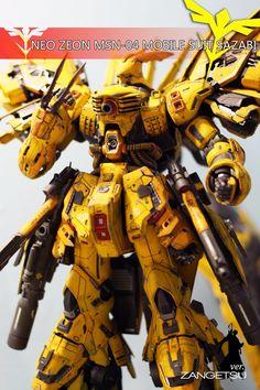 Custom Build: MG 1/100 MSN-04 Sazabi Ver. Zangetsu - Gundam Kits Collection News and Reviews